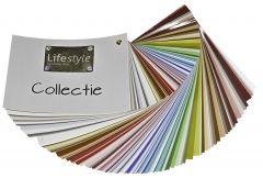 Collectie kleurenwaaier