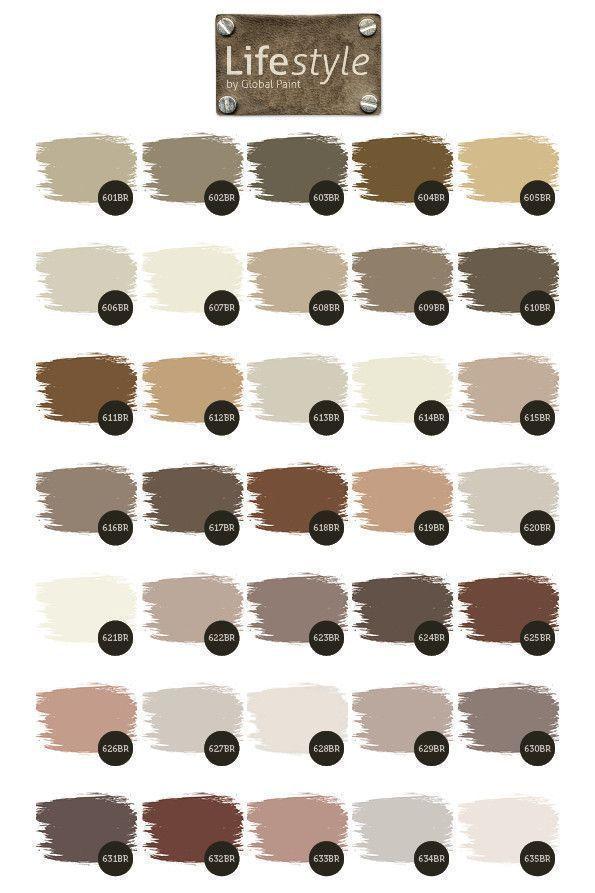 Bruin en beige tinten