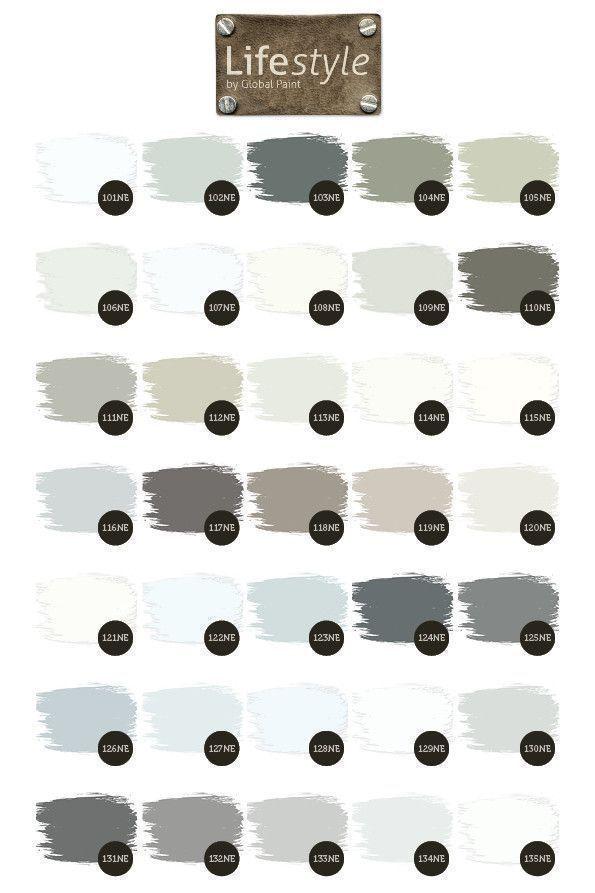 Wit en grijs tinten